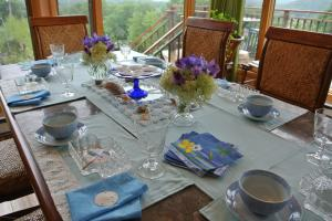 Tea timeのテーブル