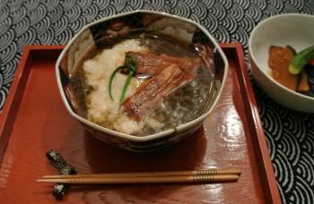 鰻トロロ年越し蕎麦