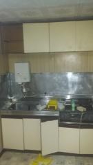 キッチン塗装前