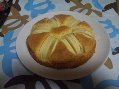 1018リンゴのケーキ