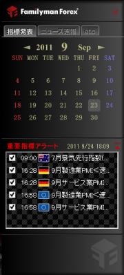 指標カレンダー