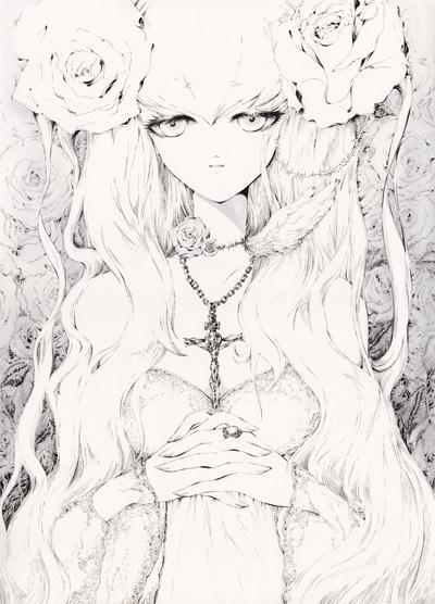 ロザリオと白い薔薇2