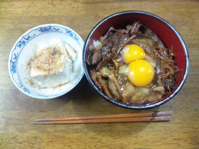 トンスキ丼