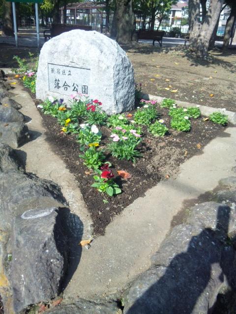 13日の花壇