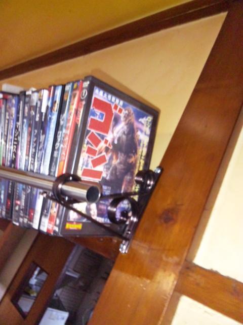 DVD棚の端っこ