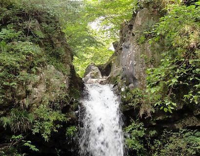 馬陣の滝-2