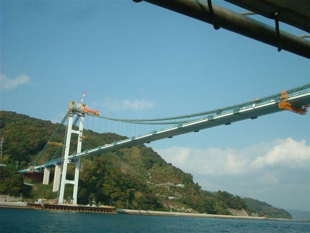 豊島にかかる橋