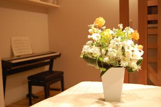 花とピアノ縮小版
