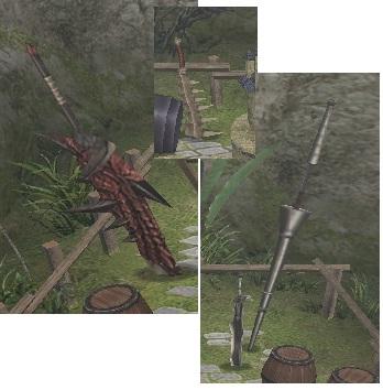 砦の図面(武器)