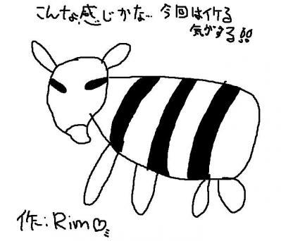 シマウマ(24回目)