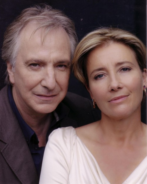 Alan Rickman&Emma Thompson