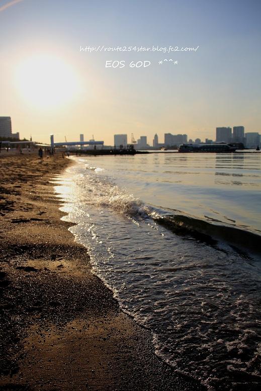 優しい浜辺