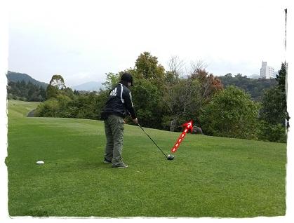 初めてのゴルフ