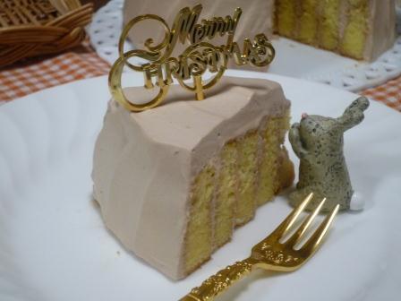 クリスマスチョコケーキP1160615