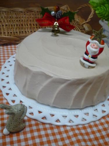 クリスマスチョコケーキP1160606