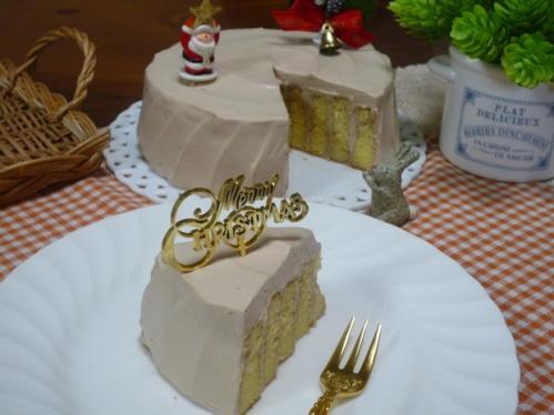 クリスマスチョコケーキP1160608