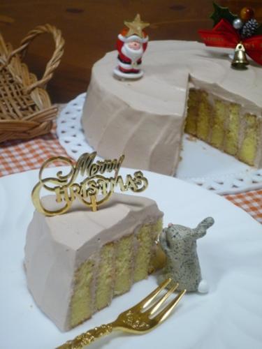 クリスマスチョコケーキP1160610