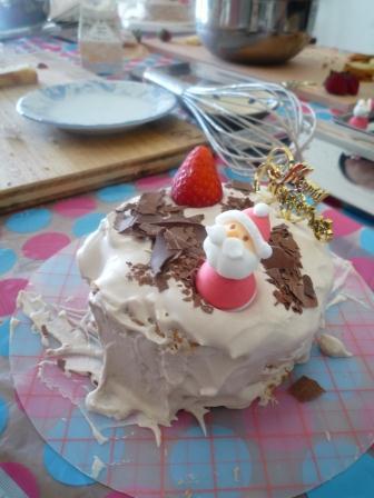 クリスマスケーキ2P1170031