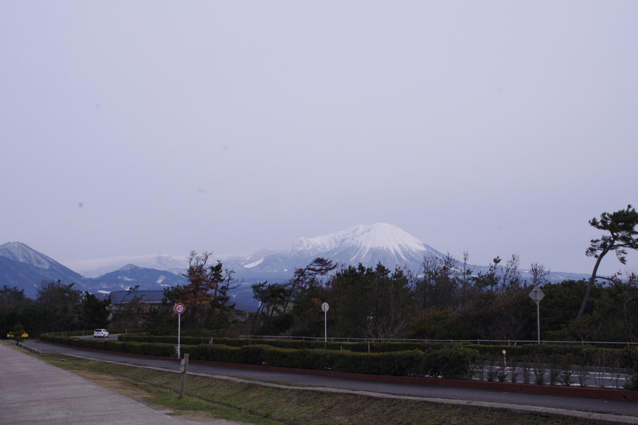 大山山頂へ