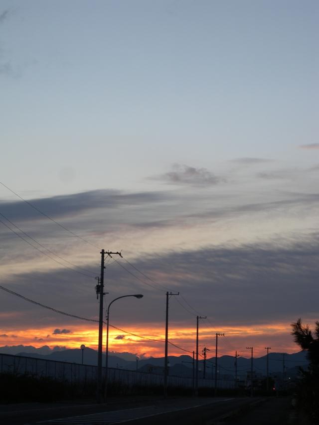 三本松の朝日11