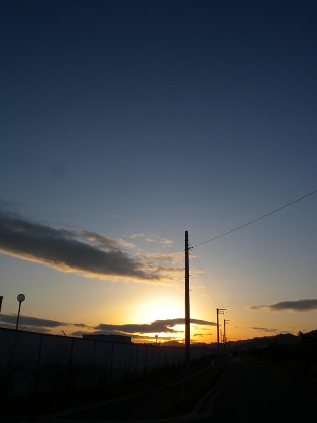 浜町からの朝日01