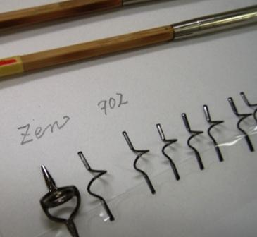 Zen702ブランクとガイド