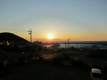 20120313夕日