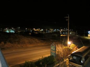 街燈が消えています。