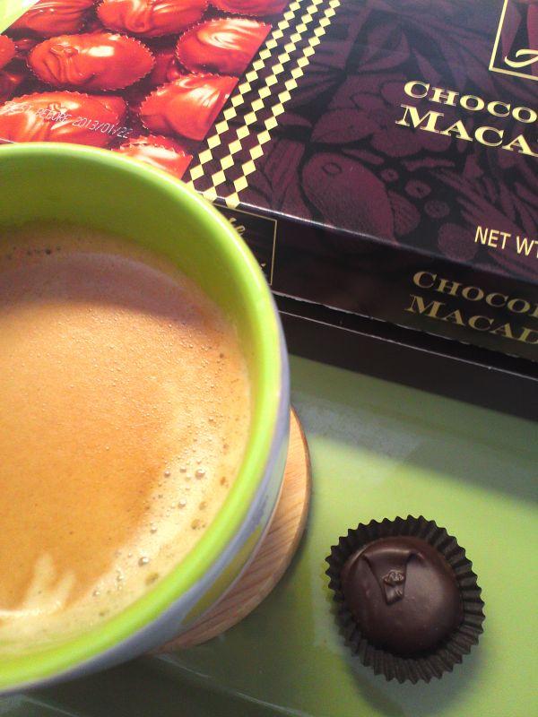 食後のチョコーヒー