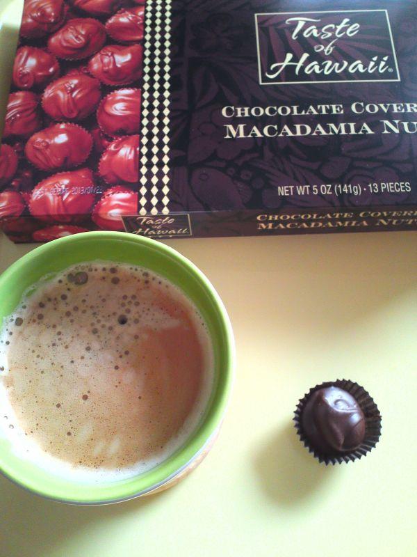 マカダミアナッツチョコ&コーヒー