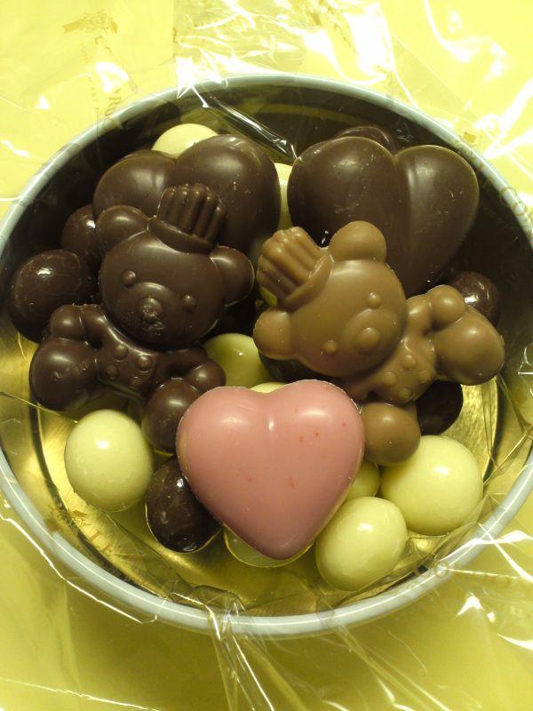 (・(ェ)・)チョコ