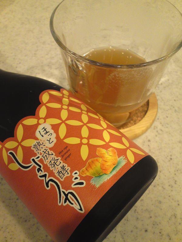 ホット発酵ショウガ