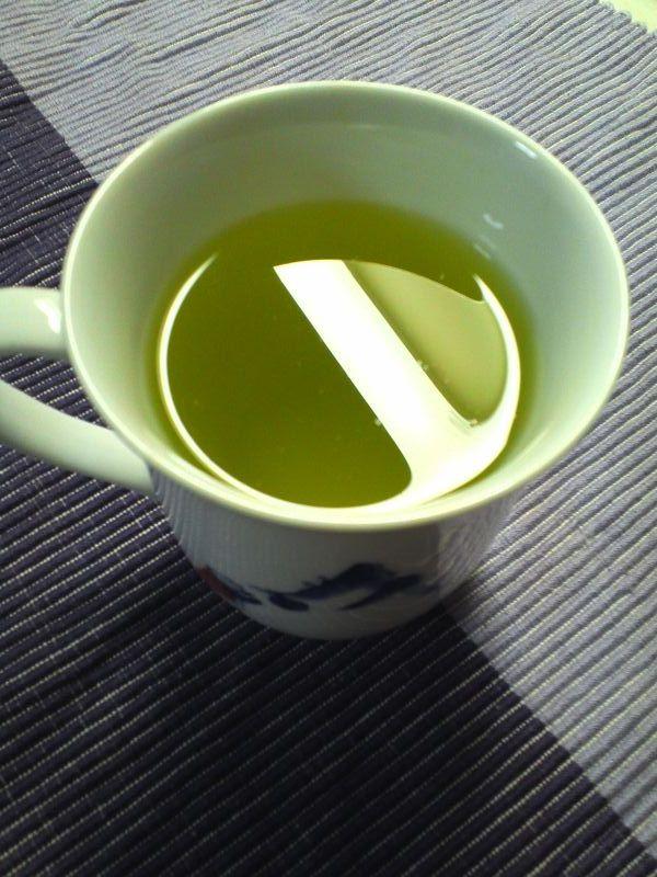 〆の玄米茶