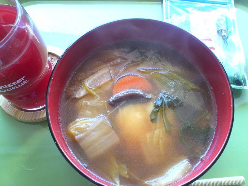 雑炊(お鍋の残り)