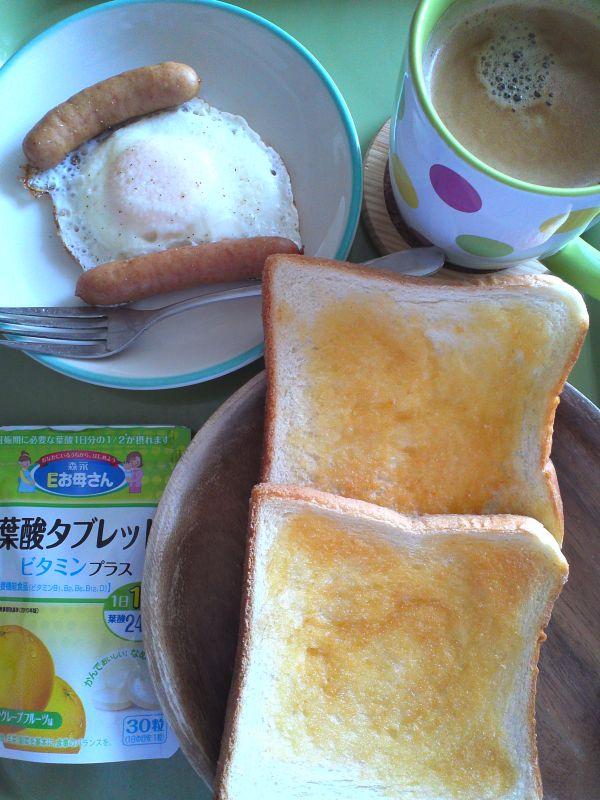 目玉焼き(朝食)