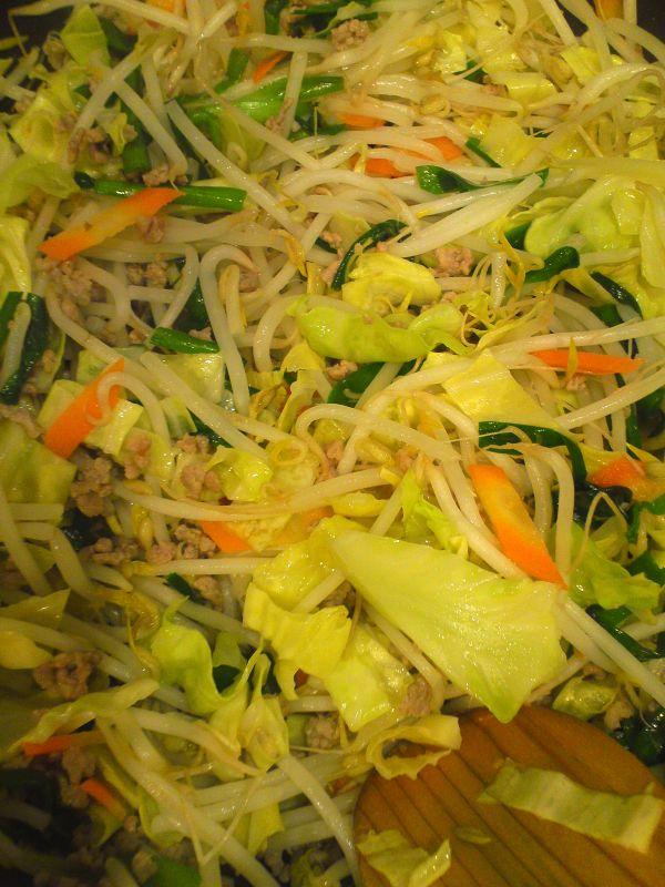 とろみ大国の野菜炒め 2その他具材