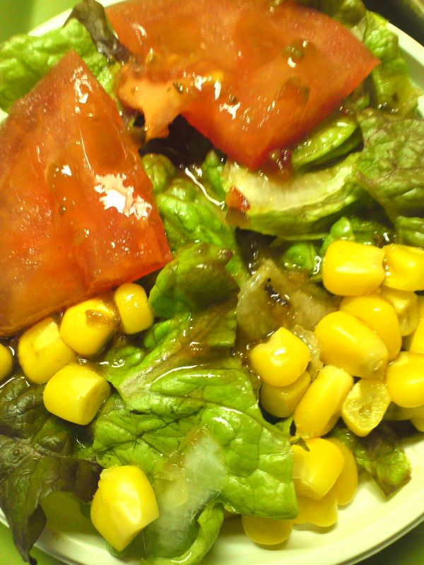 グリーンサラダ(和風ドレッシング)