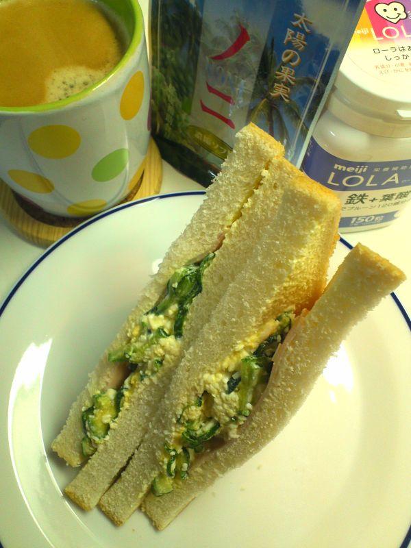 卵サンドイッチ