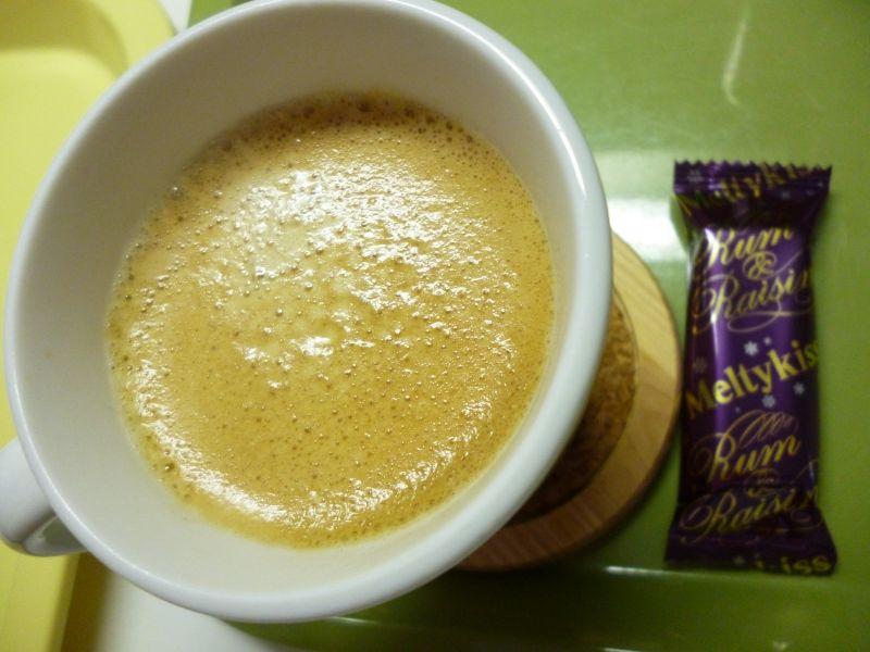 食後のコーヒー ラムチョこと
