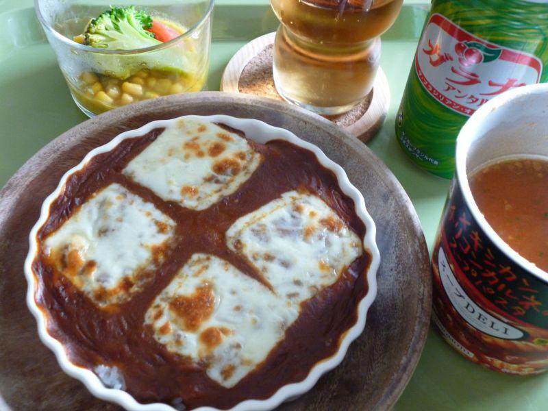 ミートドリアとスープデリ