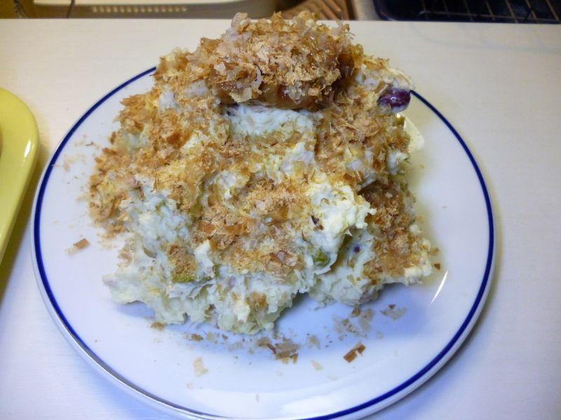 梅風味のツナポテトサラダ