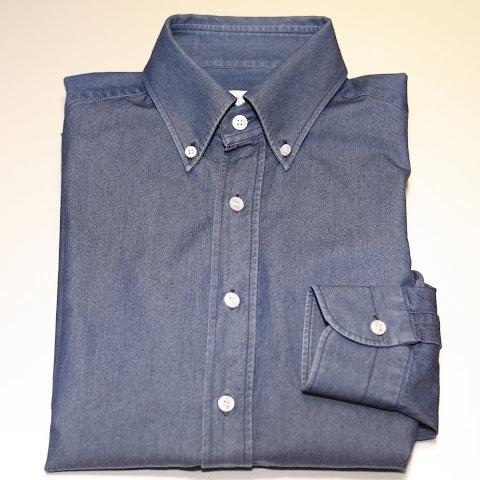 ブルーのBDシャツ | Errico Formicola