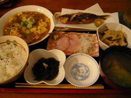 亜壇別館:夕食