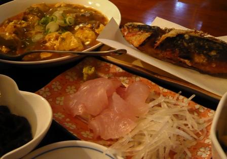 亜壇別館:夕食2