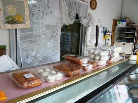 与儀菓子店:店内