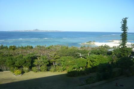 チサンリゾート沖縄美ら海:部屋からの眺め