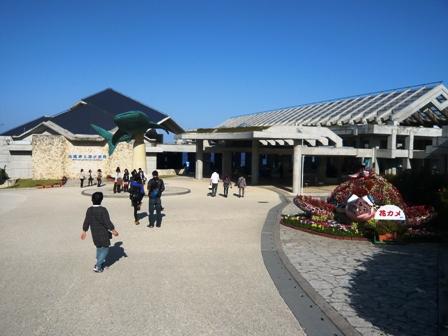 美ら海水族館:入り口