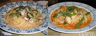 14鎌倉クリスマスセット6やりいかの明太バターソース大葉風味北海道産ほたて貝と鮭のスープパスタ