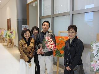 平澤真希さんと馬淵ひとみ先生