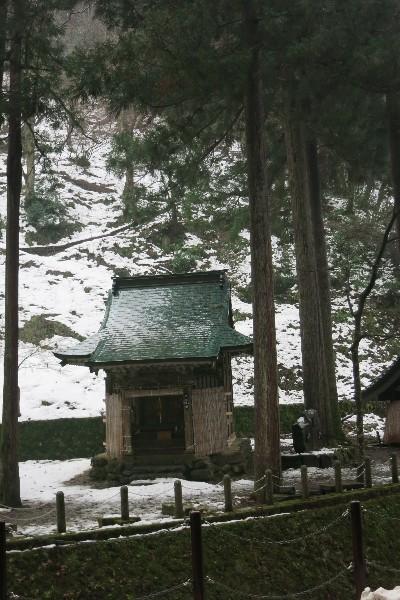 福井県永平寺  通用門付近